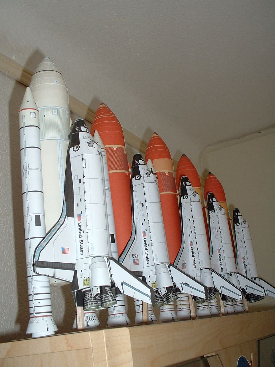 Space Shuttle Paper Model - Pics about space