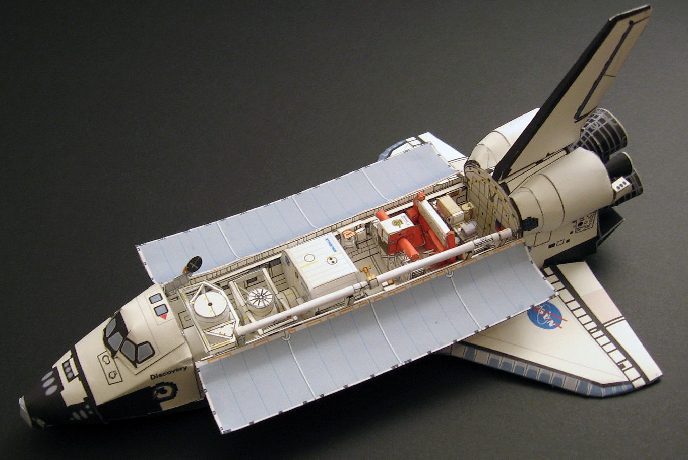 Space shuttle paper model pics about space - Small space shuttle model ...