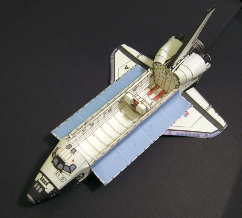 space shuttle columbia model - photo #30