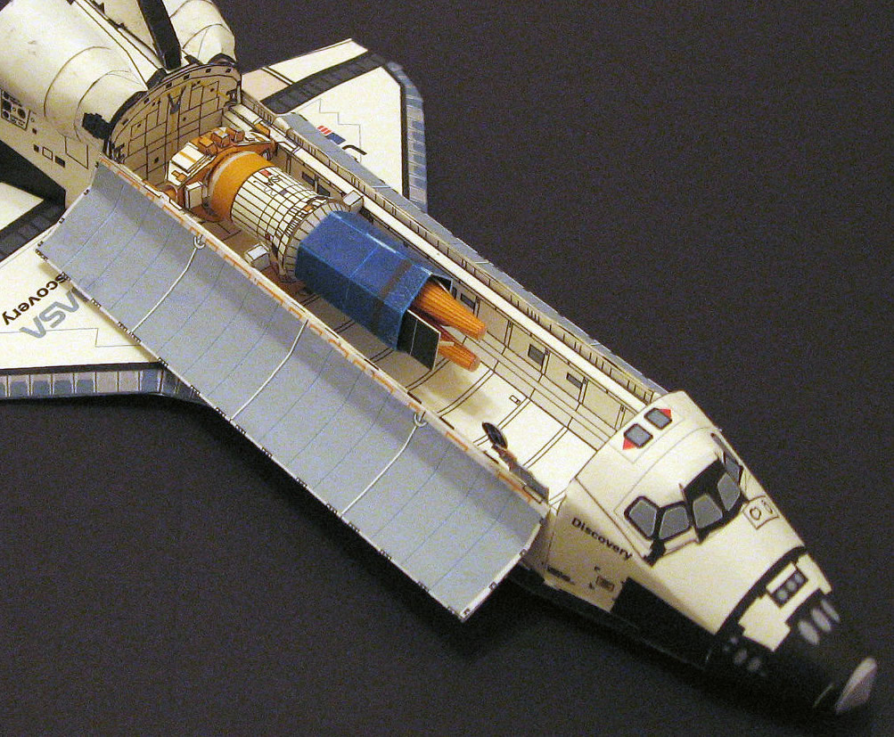 Sts 26 payload - Small space shuttle model ...
