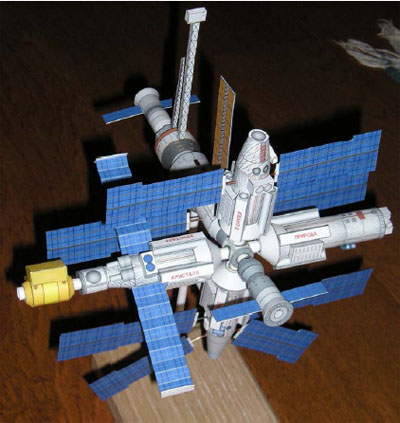 paper spacecraft models - photo #32